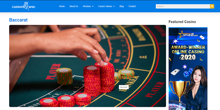 Baccarat in Onlinecasinoswiki – Casino Blackjack Strategy For the Casual Player